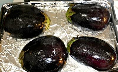 Baba Ghanouj (Eggplant Dip)