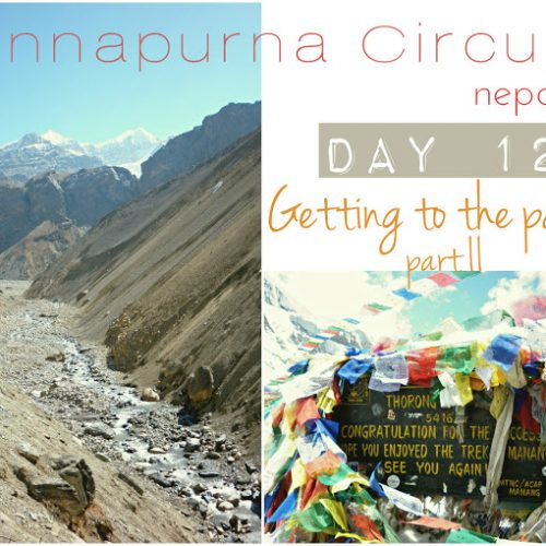 Annapurna Circuit, day 12, getting to the pass II