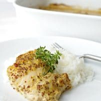 Honey Mustard Baked Chicken