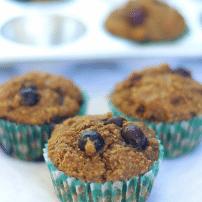 Blueberry Buttermilk Bran Muffins: