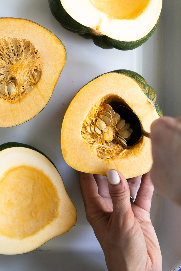 How To Cook Acorn Squash The Forked Spoon