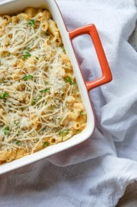 Butternut Squash and Cauliflower Mac n Cheese
