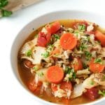 Easy Russian Cabbage Soup with Ground Turkey