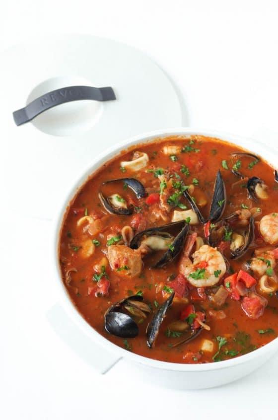 Cioppino (fish-stew)