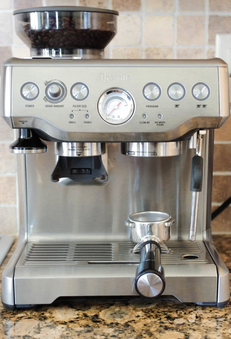 The Breville Barista Express Is My New Bff The Forked Spoon