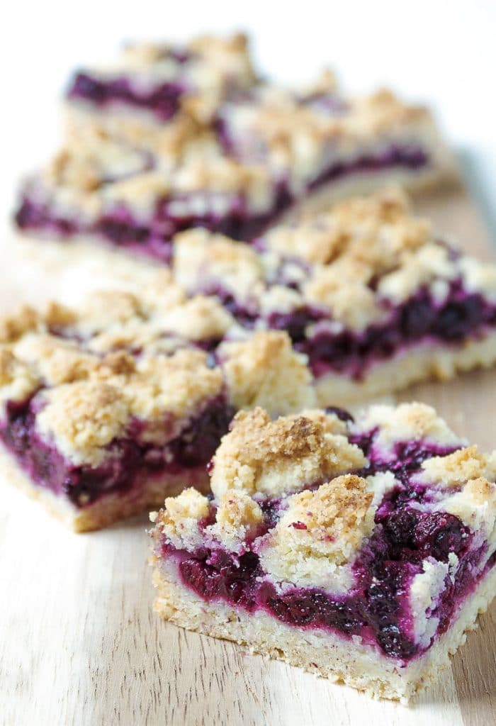 Baked and Served Blueberry Crumble Bars