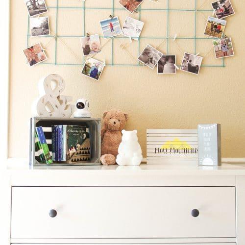 Images over dresser