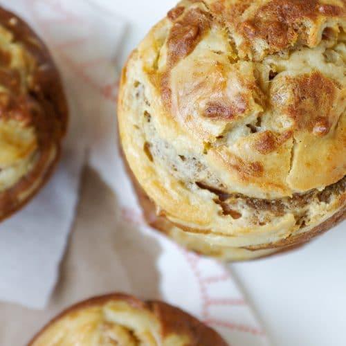 Pumpkin and Cream Cheese Swirl Muffins