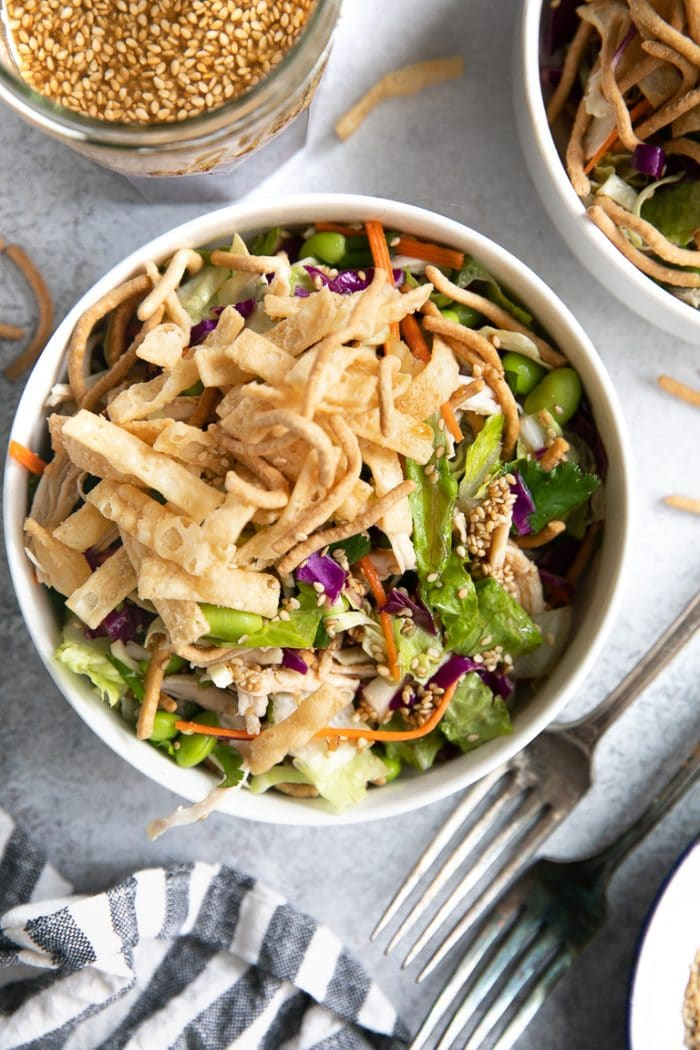 Chinese Chicken Salad Recipe - The Forked Spoon