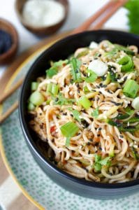 Ramen Noodles with Spicy Chili Sauce