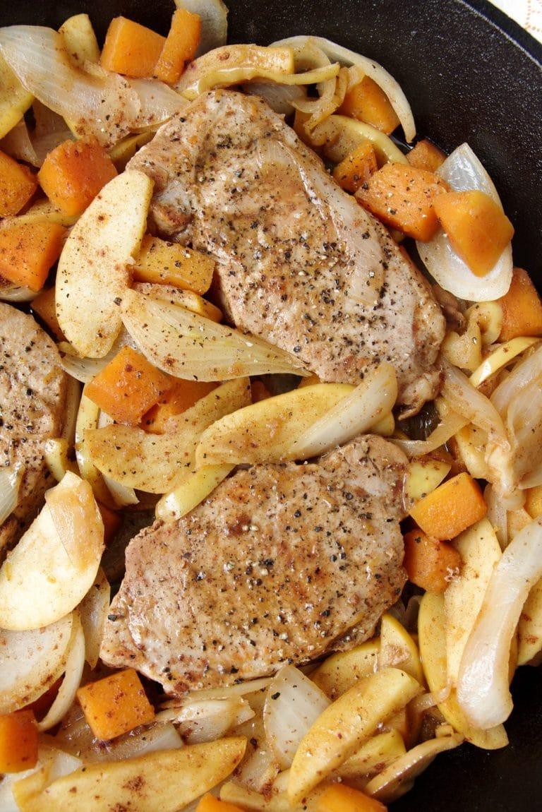 Apple+Cinnamon+Pork+Chops+with+Butternut+Squash.jpg - The ...