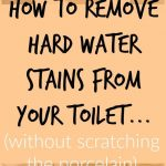 How to Remove Toilet Rings from Toilets (without scratching the porcelain)