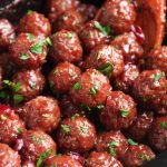 Sweet and Tangy Slow Cooker Cranberry Meatballs