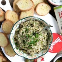 Easy Lemon Olive Tapenade Crostini