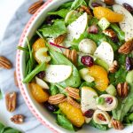 Autumn Apple Salad with Poppyseed Dressing