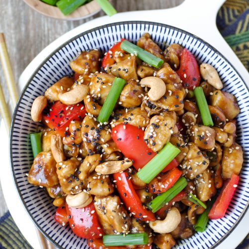 20 Minute Cashew Chicken