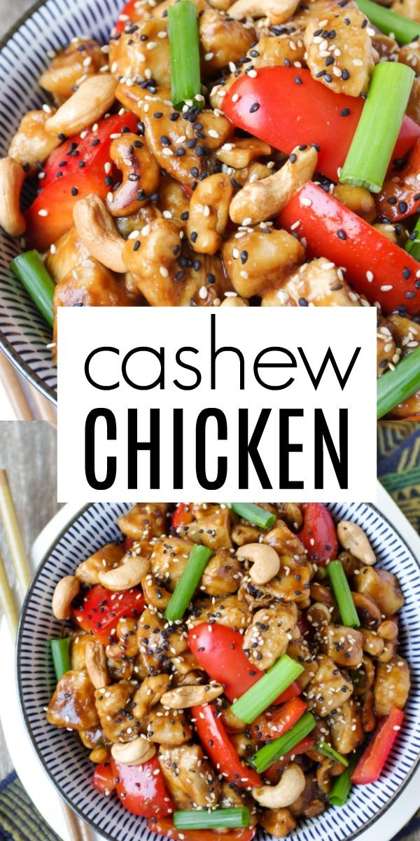 Cashew Chicken Recipe #chicken #chickenstirfry #cashewstirfry #stirfryrecip #30minutemeal #cashewchickenrecipe