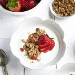 Easy Naturally Sweetened Oat Granola