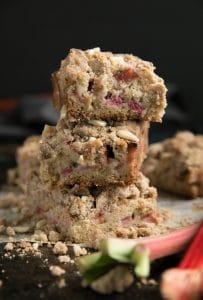 Rhubarb (Big Crumb) Coffeecake