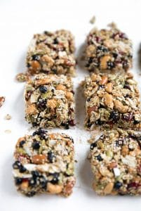 Nutty Superfood Oat Bars