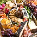 Beautiful Autumn Cheese Board (Vegetarian)