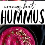 beet hummus long pin