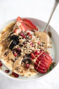 Buckwheat Oatmeal Breakfast Bowl