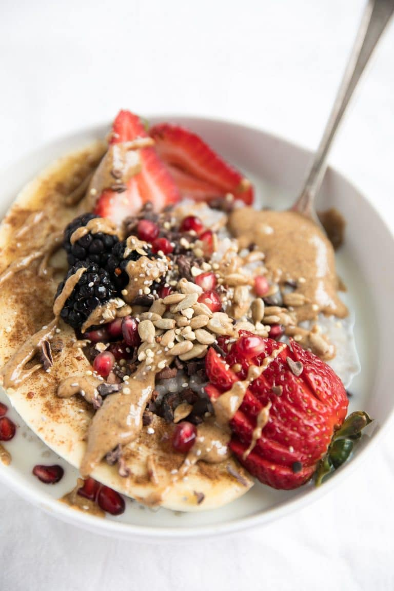 Buckwheat Oatmeal Breakfast Bowl