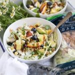 BBQ Chopped Blueberry and Chickpea Salad