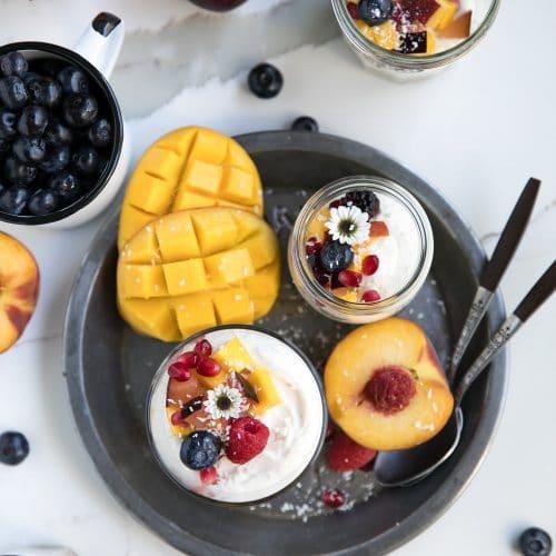 Easy No-Bake Summer Cheesecake