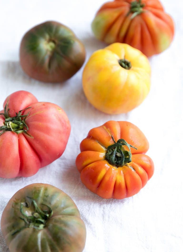 hairloom tomatoes