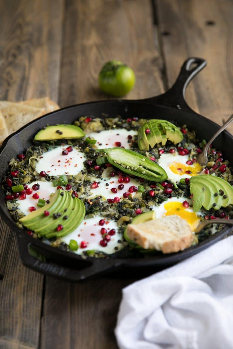 Green Power Shakshuka