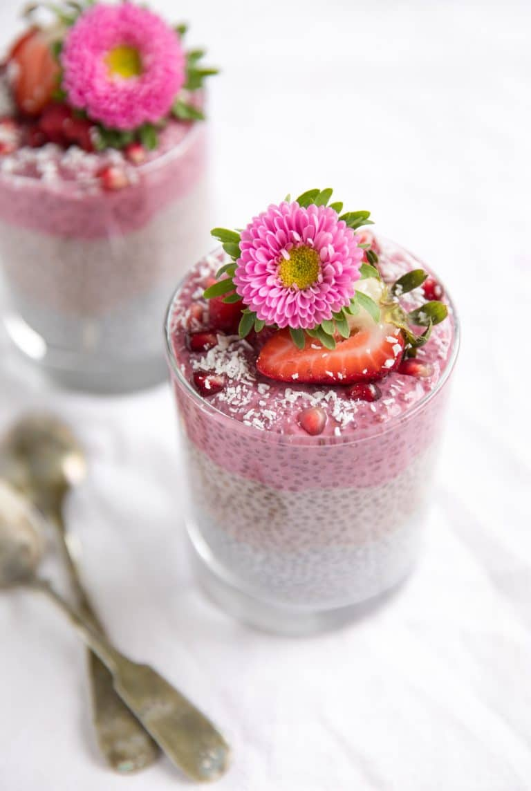 Triple Layer Chia Pudding Cup