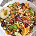 Zesty Veggie Noodle Salad