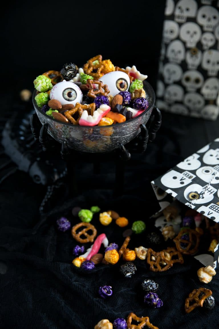 Creepy Crawly Halloween Party Mix