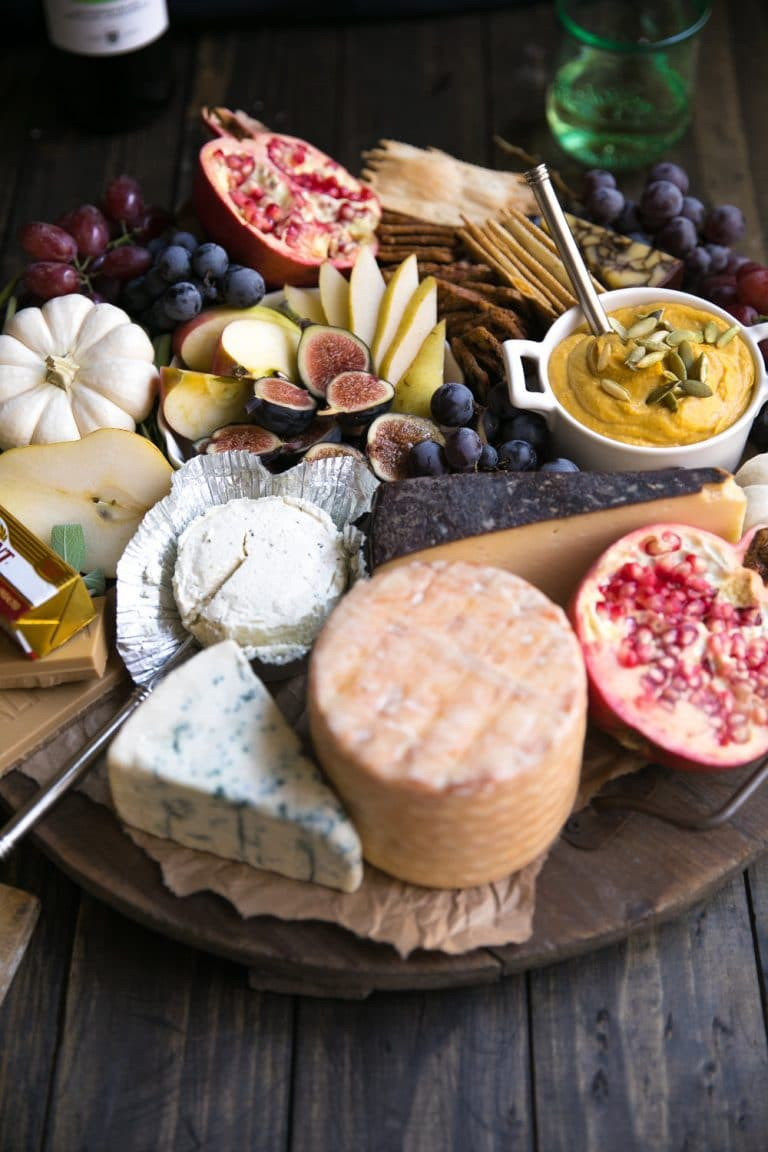 diagonal image of Autumn Cheese Board