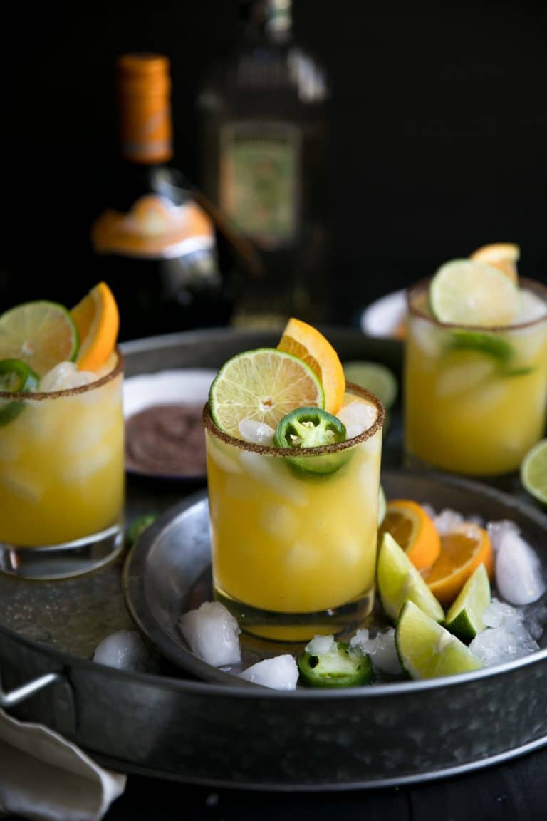 A Spicy Margarita with Orange