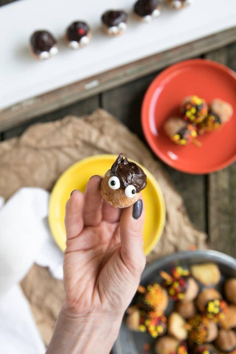 Mini Acorn People Donut Holes
