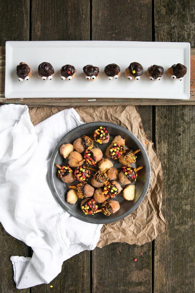 Acorn People Donut Holes