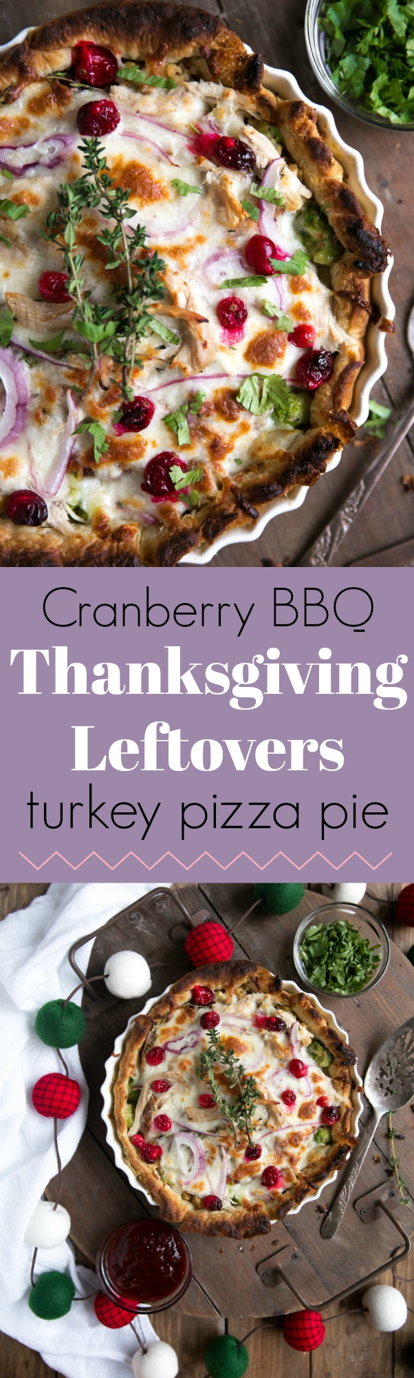 Cranberry BBQ Leftover Turkey Pizza Pie. When Thanksgiving leftovers, bbq pizza, and pie make a baby you get this (better than Thanksgiving dinner) Cranberry BBQ Thanksgiving Leftovers Turkey Pizza Pie via @theforkedspoon #puffpastry #leftovers #pizza #thanksgivingleftovers #comfortfood For this and more recipes visit, theforkedspoon.com