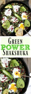 green Shakshuka