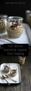 Fall Spiced Butternut Squash Chia Pudding