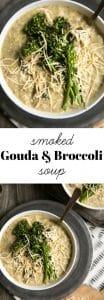 smoked gouda and broccoli soup