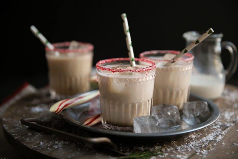 Holiday Peppermint White Russian