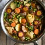 Sausage and Vegetable Soup