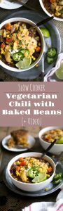 bowl of veg chili