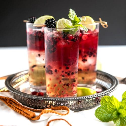 Blackberry Cranberry Moscow Mule