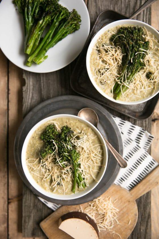 Smoked Gouda Broccoli Soup