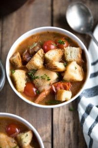 Easy 30 Minute Fish Stew