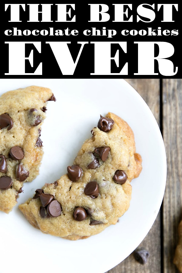 Best Ever Browned Butter Chocolate Chip Cookies. Soft, buttery, and so easy, these are guaranteed to be the best Chocolate Chip Cookies you ever make!  #cookies #chocolate #chocolatechipcookies #dessert #snack #sweets | For this recipe and more visit, https://theforkedspoon.com